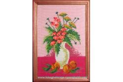 Квіти і абрикоси